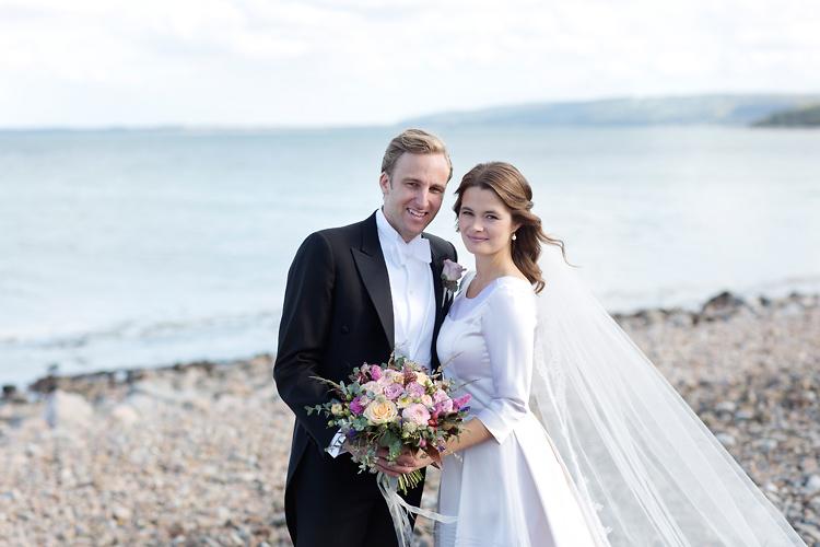 Brudpar fotograferat av bröllopsfotograf Skåne
