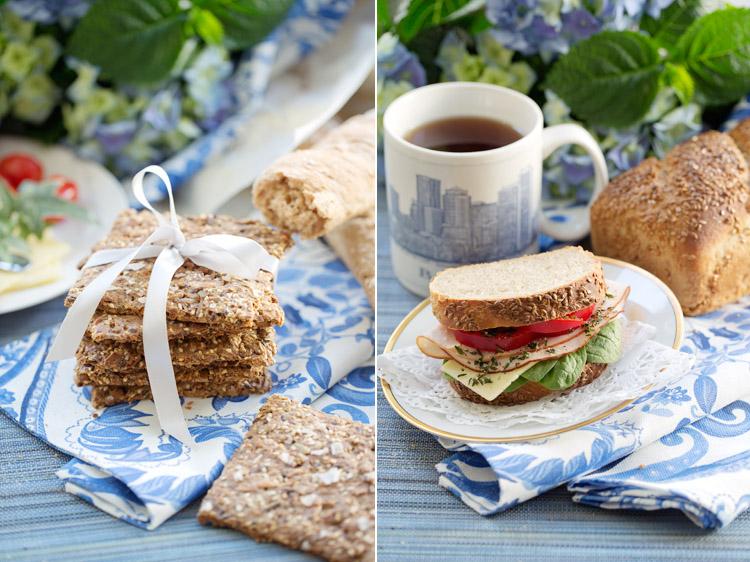 Glutenfritt bröd av Josephine Palm fotograferat av Jessica Lund