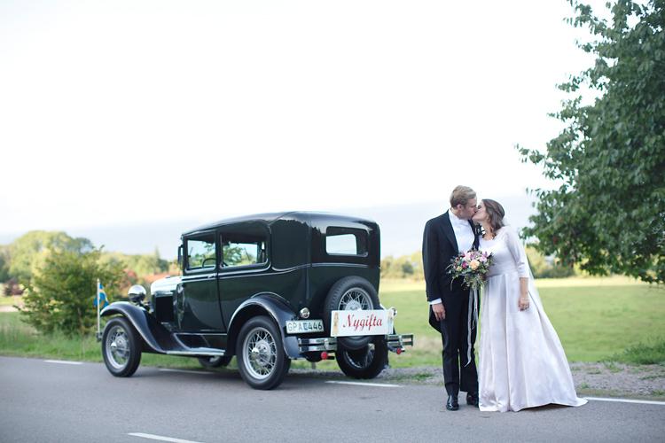 Nygifta med bil