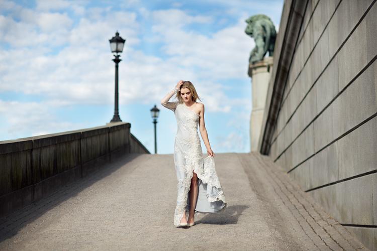 Mode Noyemi klänning modefotograf Stockholm