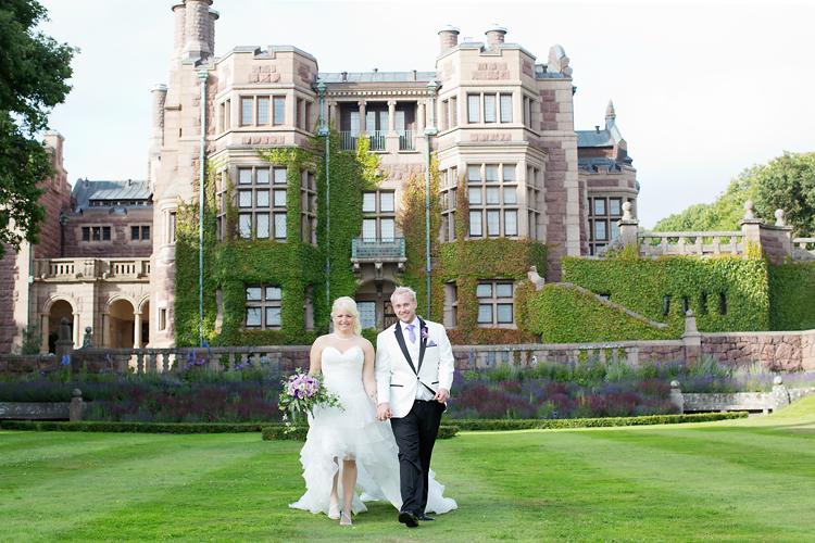 Bröllopsfotograf Tjolöholms slott Jessica Lund