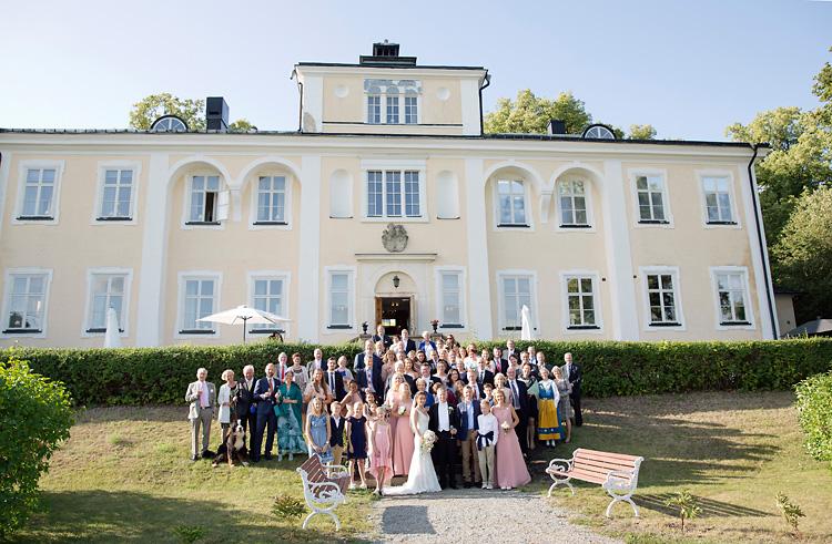 Hagaslott och bröllop