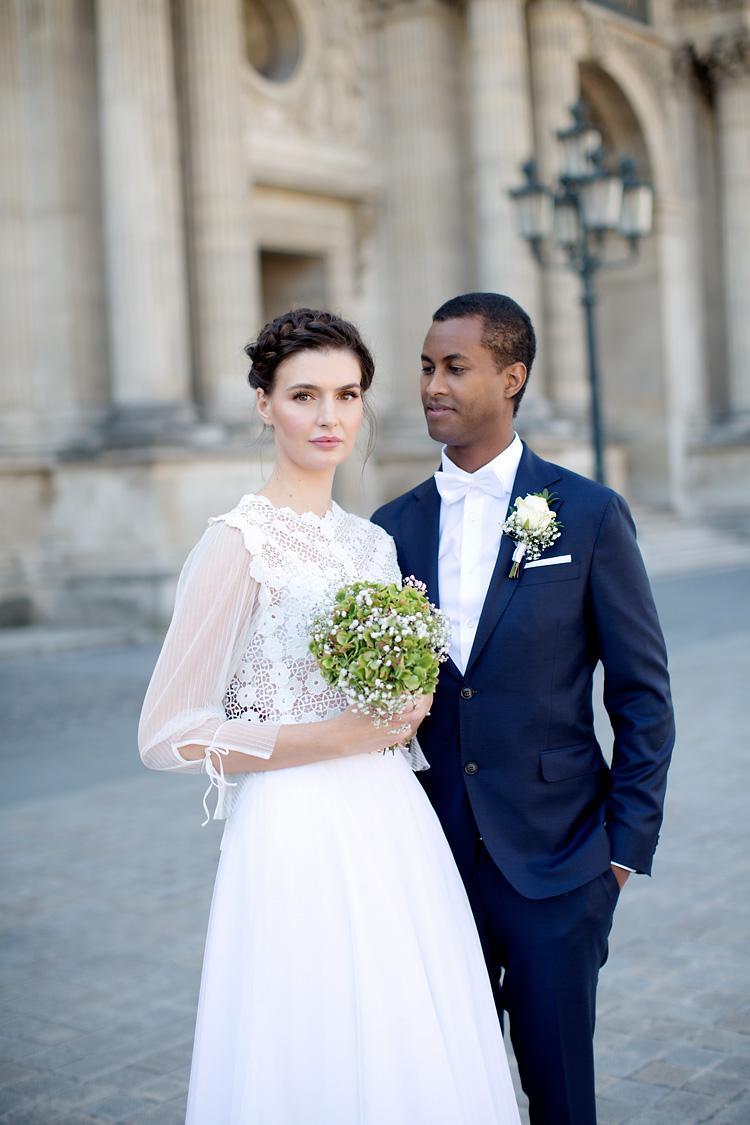 Bröllopsfotografering Louvren