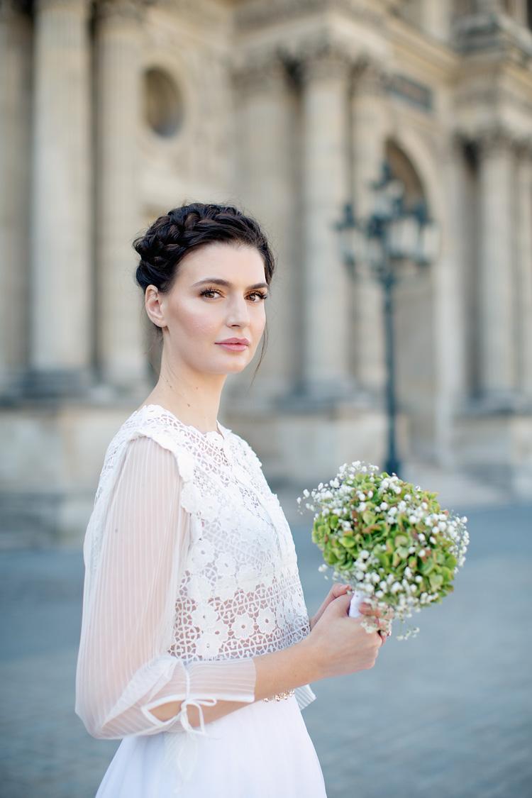 Paris Louvren bröllop